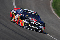 Oct. 10, 2009; Fontana, CA, USA; NASCAR Nationwide Series driver Scott Wimmer during the Copart 300 at Auto Club Speedway. Mandatory Credit: Mark J. Rebilas-