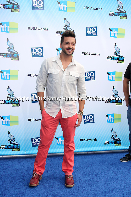 Los Angeles - AUG 19:  Jai Rodriguez arrives at the 2012 Do Something Awards at Barker Hanger on August 19, 2012 in Santa Monica, CA