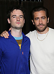 "Tom Sturridge and Jake Gyllenhaal during ""Sea Wall/A Life"" Cast Photo Call at Dream Hotel on June 5, 2019 in New York City."