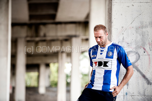Belgian football player Laurent Depoitre (Belgium, 25/09/2014)