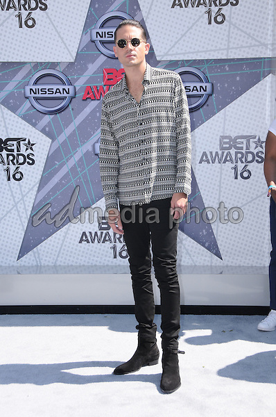 26 June 2016 - Los Angeles. G-Eazy. Arrivals for the 2016 BET Awards held at the Microsoft Theater. Photo Credit: Birdie Thompson/AdMedia