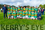 North Kerry U14 Division 1 Champions Moyvane after defeating Listowel in the final played in Finuge on Sunday morning
