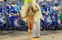 SAO PAULO, SP, 19 DE FEVEREIRO 2012 - CARNAVAL SP -  Cacau.UNIDOS DO PERUCHE - Desfile da escola de samba Unidos do Peruche na terceira noite do Carnaval 2012 de São Paulo, no Sambódromo do Anhembi, na zona norte da cidade, neste domingo.(FOTO:ADRIANO LIMA  - BRAZIL PHOTO PRESS).