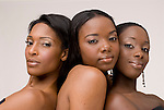 Beauty photo of African American women