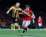 Luke Chadwick of Cambridge Utd and Paddy McNair of Manchester United - FA Cup Fourth Round replay - Manchester Utd  vs Cambridge Utd - Old Trafford Stadium  - Manchester - England - 03rd February 2015 - Picture Simon Bellis/Sportimage
