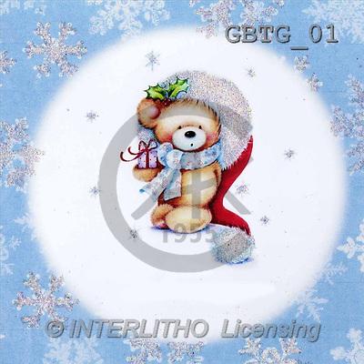 Theresa, CHRISTMAS ANIMALS, paintings(GBTG01,#XA#) Weihnachten, Navidad, illustrations, pinturas