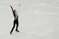 SOCHI, RUSSIA, 06.02.2014 - JOGOS OLIMPICOS DE INVERNO / SOCHI 2014 / PATINACAO ARTISTICA -  Yakov Godorozha da Ucrania durante apresentação na competição de Patinacao Artistica solo masculina nas Olimpiadas de Inverno na Valtins Arena em Sochi na Russia, nesta quinta-feira, 06. (Foto: Malte Christians / Brazil Photo Press).