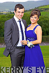 Dan Finnergan and Mary Lyne, enjoying Gael Choláiste Chiarraí debs at Ballyroe Heights hotel on Monday evening.