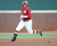 Oklahoma defeated Virginia 5-4 during game 6 of an NCAA college baseball regional game in Charlottesville, VA., Sunday, June 3, 2012.  (Photo/Andrew Shurtleff)
