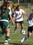 Douglas' Lexi VonSchottenstein plays in Tuesday's 4-1 victory over Manogue, Sept. 20, 2011 at Douglas High School in Gardnerville, Nev..Photo by Cathleen Allison