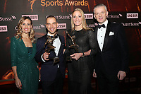 Sandra Studer & Nino Schurter & Daniela Ryf & Rainer Maria Salzgeber - Credit Suisse Sports Awards 2018