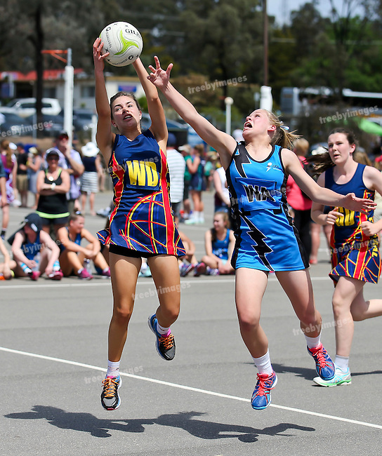 10/10/2015<br /> Netball Victoria State Titles 2015<br /> Bendigo Day 1<br /> Photo: Grant Treeby