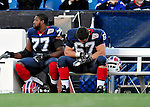 1 November 2009: Buffalo Bills' guard Andy Levitre (67) hangs his head while on the sidelines with little time remaining in a game against the Houston Texans at Ralph Wilson Stadium in Orchard Park, New York, USA. The Texans defeated the Bills 31-10. Mandatory Credit: Ed Wolfstein Photo