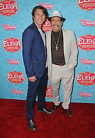 """16 July 2016 - Beverly Hills, California. Lou Diamond Phillips, Danny Trejo. Arrivals for the Los Angeles VIP screening for Disney's """"Elena of Avalor"""" held at Paley Center for Media. Photo Credit: Birdie Thompson/AdMedia"""