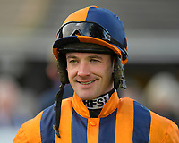 Jockey Richie McLernon during Horse Racing at Plumpton Racecourse on 4th November 2019