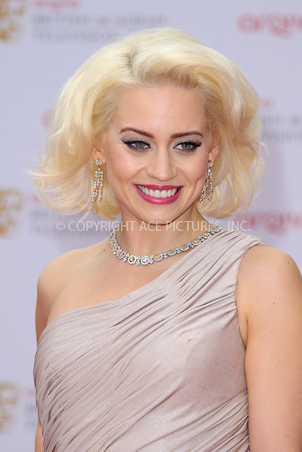 WWW.ACEPIXS.COM....US Sales Only....May 12, 2013....Kimberley Wyatt at the 2013 Arqiva British Academy Television Awards (BAFTAs) held at the Royal Festival Hall on May 12 2013 in London ....By Line: Famous/ACE Pictures......ACE Pictures, Inc...tel: 646 769 0430..Email: info@acepixs.com..www.acepixs.com