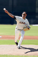 Joe Martinez -San Francisco Giants 2009 Instructional League. .Photo by:  Bill Mitchell/Four Seam Images..