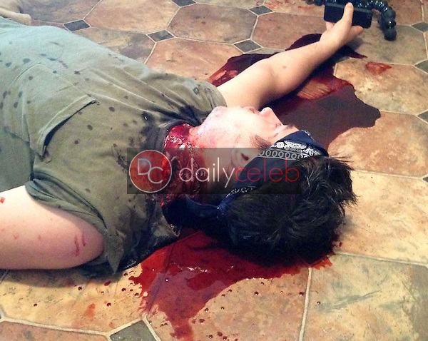 """Cody Hackman<br /> on the set of """"Hidden In The Woods,"""" Private Location, Richmond, TX 10-05-13<br /> DailyCeleb.com 818-249-4998"""