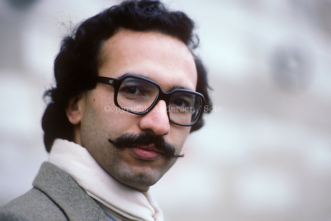 Tahar Djaout, Algerian writer in 1987.