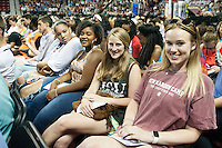 2016 Fall Convocation in Humphrey Coliseum.<br />