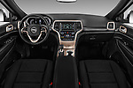 Stock photo of straight dashboard view of 2017 JEEP Grand-Cherokee Laredo 5 Door SUV Dashboard