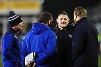Shaun Knight of Bath Rugby looks on after the match. Anglo-Welsh Cup match, between Bath Rugby and Gloucester Rugby on January 27, 2017 at the Recreation Ground in Bath, England. Photo by: Patrick Khachfe / Onside Images