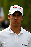 Matteo Manassero (ITA) on the 9th on the 1st day of the Omega European Masters, Crans-Sur-Sierre, Crans Montana, Switzerland..Picture: Golffile/Fran Caffrey..