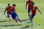 Spanish  Javi Martinez and Cesar Azpilicueta during the second training of the concentration of Spanish football team at Ciudad del Futbol de Las Rozas before the qualifying for the Russia world cup in 2017 August 30, 2016. (ALTERPHOTOS/Rodrigo Jimenez)