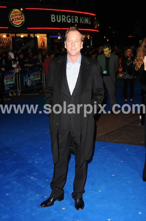 **ALL ROUND PICTURES FROM SOLARPIX.COM**.**WORLDWIDE SYNDICATION RIGHTS**.The Monsters vs Aliens' Film Premiere, London..This pic:Kiefer Sutherland ..JOB REF: 8643       SSD     DATE:11.03.09.**MUST CREDIT SOLARPIX.COM OR DOUBLE FEE WILL BE CHARGED**.**ONLINE USAGE FEE GBP 50.00 PER PICTURE - NOTIFICATION OF USAGE TO PHOTO @ SOLARPIX.COM**.**CALL SOLARPIX : +34 952 811 768 or LOW RATE FROM UK 0844 617 7637**