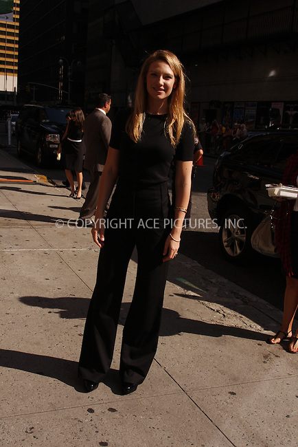 WWW.ACEPIXS.COM . . . . .  ....September 2, 2008. New York City.....Actress Anna Torv arrives 'The Late Show with David Letterman' on September 2, 2008 in New York City.......Please byline: AJ Sokalner - ACEPIXS.COM.... *** ***..Ace Pictures, Inc:  ..Philip Vaughan (646) 769 0430..e-mail: info@acepixs.com..web: http://www.acepixs.com