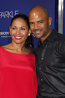 """Los Angeles - AUG 16:  Salli Richardson-Whitfield, Dondre T Whitfield arrives at the """"Sparkle""""  Premiere at Graumans Chinese Theater on August 16, 2012 in Los Angeles, CA"""