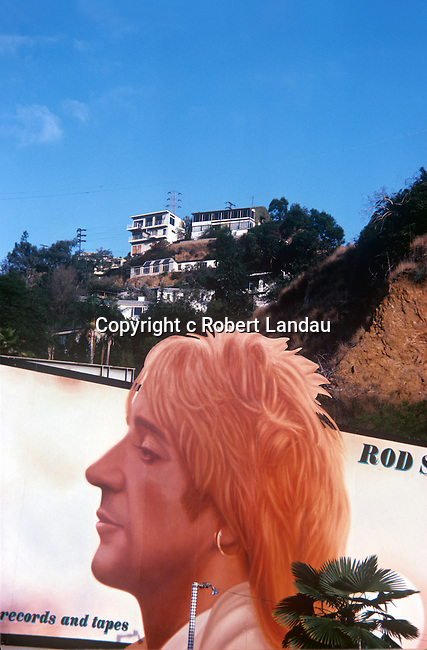 Rod Stewart Billboard, Sunset Strip,1979