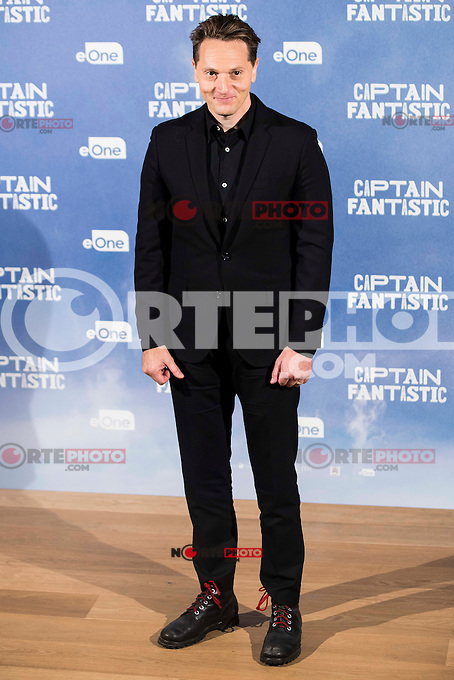 "XXX attends to the presentation of the film ""Captain Fantastic"" at Ursa Hotel in Madrid. September 11, Spain. 2016. (ALTERPHOTOS/BorjaB.Hojas) NORTEPHOTO.COM"
