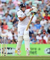Simon Kerrigan of England - England vs Australia - 5th day of the 5th Investec Ashes Test match at The Kia Oval, London - 25/08/13 - MANDATORY CREDIT: Rob Newell/TGSPHOTO - Self billing applies where appropriate - 0845 094 6026 - contact@tgsphoto.co.uk - NO UNPAID USE