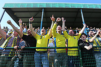 Celebrations at the final whistle as Haringey fans celebrate promotion  during Haringey Borough vs Canvey Island, Bostik League Division 1 North Play-Off Final Football at Coles Park Stadium on 6th May 2018