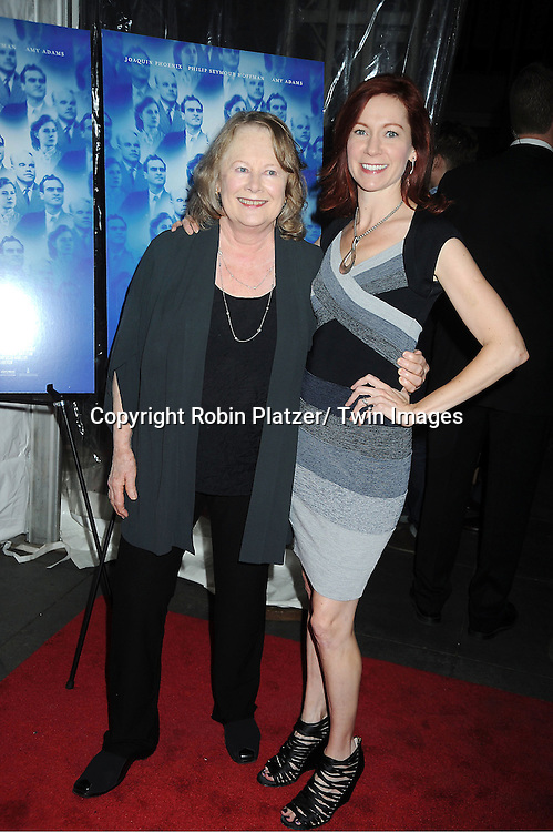 "Shirley Knight and Carrie Preston attends the special screening of ""The Master"" on September 11, 2012 at The Ziegfeld Theatre in New York City which was presented by The Peggy Siegal Company."