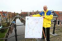 SCHAATSEN: FRIESE ELFSTEDENTOCHT: Friesland, IJsmeester Jan Oostenbrug, ©foto Martin de Jong