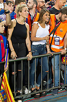 Antonella Roccuzzo  and Luis Suarez wife during the match of  Copa del Rey (King's Cup) Final between Deportivo Alaves and FC Barcelona at Vicente Calderon Stadium in Madrid, May 27, 2017. Spain.. (ALTERPHOTOS/Rodrigo Jimenez) /NortePhoto.com