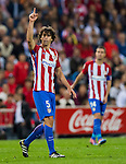 Tiago Cardoso Mendes of Club Atletico de Madrid reacts during their La Liga match between Club Atletico de Madrid and Malaga CF at the Estadio Vicente Calderón on 29 October 2016 in Madrid, Spain. Photo by Diego Gonzalez Souto / Power Sport Images