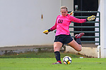 DENTON TEXAS, October 7: University of North Texas Mean Green Soccer v University of Alabama-Birmingham at Mean Green Soccer Complex in Denton on October 7, 2018 (Photo Rick Yeatts Photography/Colin Mitchell)