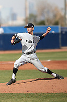 Mike Renner, College of Southern Idaho Eagles, in action against the South Mountain Community College Cougars at South Mountain CC, Phoenix, AZ - 02/06/2011.Photo by:  Bill Mitchell/Four Seam Images.