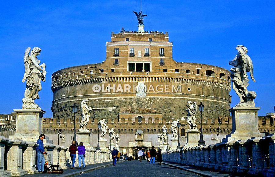 Castelo de Santo Angelo em Roma. Itália. 2000. Foto de Vinicius Romanini.