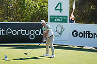 Ricardo Gouveia (POR) during round 1 of the Portugal Masters, Dom Pedro Victoria Golf Course, Vilamoura, Vilamoura, Portugal. 24/10/2019<br /> Picture Andy Crook / Golffile.ie<br /> <br /> All photo usage must carry mandatory copyright credit (© Golffile | Andy Crook)