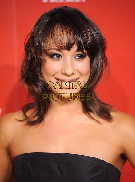 CHERYL BURKE.US Weekly's Hot Hollywood Party 2009 held at Voyeur, West Hollywood, California, USA. .November 18th, 2009.headshot portrait black strapless.CAP/RKE/DVS.©DVS/RockinExposures/Capital Pictures.