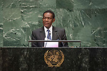 LOS general debate &ndash; 27 September<br /> <br /> AM<br /> <br /> His Excellency Teodoro Obiang Nguema Mbasogo, President, Republic of Equatorial Guinea