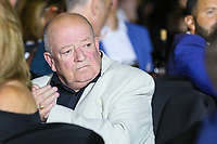 Actor Tim Healy during the evening event of the Graham Wylie Foundation- Have A Heart- golf day with Lee Westwood and Ronan Keating at Gateshead Hilton England on 10 September 2018. Photo by Thomas Gadd.