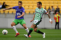 Alessandro Diamanti of Western United FC during the A League - Wellington Phoenix v Western United FC at Sky Stadium, Wellington, New Zealand on Friday 21 February 2020. <br /> Photo by Masanori Udagawa. <br /> www.photowellington.photoshelter.com