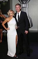 29 November 2018 - Las Vegas, NV - Clint Bowyer, Lorra Bowyer. 2018 Monster Energy NASCAR Awards Red Carpet at Wynn Las Vegas.     <br /> CAP/ADM/MJT<br /> &copy; MJT/ADM/Capital Pictures