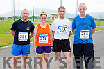Padraig O'Sullivan Rathmore, Noreen Murphy Headford, TJ O'Sullivan and Pat Cremin Gneeveguilla who ran in the Rathmore 5k on Sunday