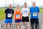 Padraig O'Sullivan Rathmore, Noreen Murphy Headford, TJ O'Sullivan and Pat Cremin Gneeveguilla who ran in the Rathmore 5k on Sunday